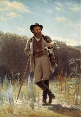 Iwan  Nikolayevich Kramskoy, Portrait of  Ivan Shishkin, 1873, State Tretyakov  Gallery, Moscow ©  State Tretyakov Gallery