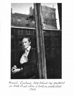 Marcel Duchamp, 1964, Courtesy DC Moore Gallery, New York © Duane Michals