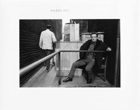 Pasolini, 1969, Courtesy DC Moore Gallery, New York © Duane Michals