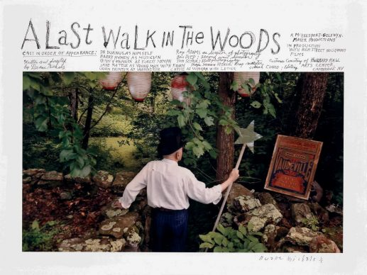 A Last Walk in the Woods, 2015, Courtesy DC Moore Gallery, New York © Duane Michals