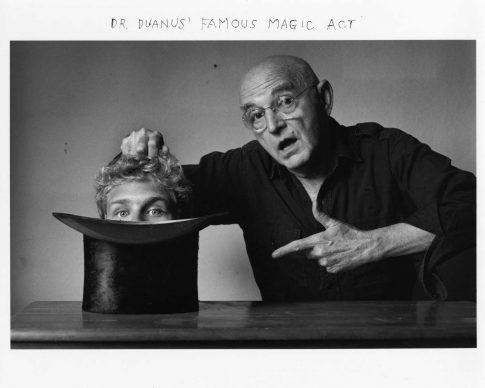 Dr. Duanus' Famous Magic Act, 1996, Courtesy DC Moore Gallery, New York © Duane Michals