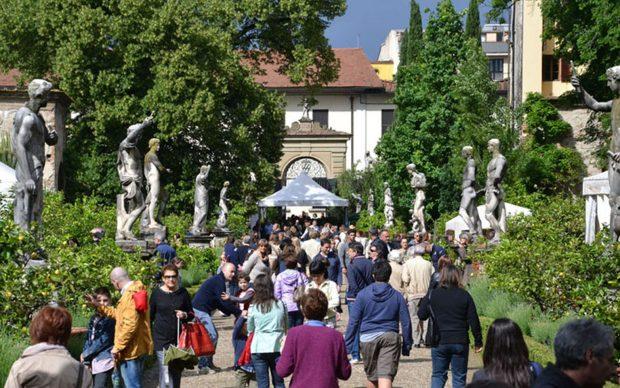 Giardino Corsini durante Artigianato e Palazzo, Firenze