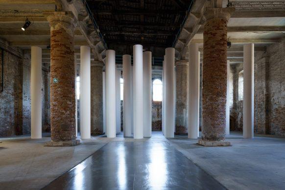 Biennale di Architettura di Venezia 2018. The Practice of Teaching. Valerio Olgiati. Experience of Space, 2018. Installation, mixed media. Photo Andrea Avezzù. Courtesy: La Biennale di Venezia