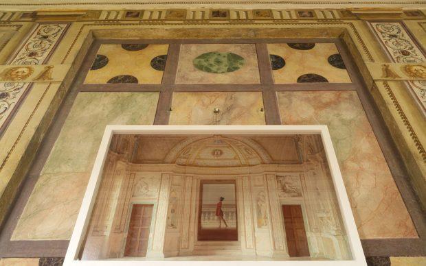 Anna Di Prospero, Palazzo ducale Mantova, 2018, installazione site specific Palazzo Ducale, Corridoio dei Mori
