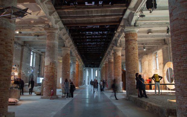 Biennale di Architettura di Venezia 2018. Arsenale. Mostra Freespace. Photo Irene Fanizza