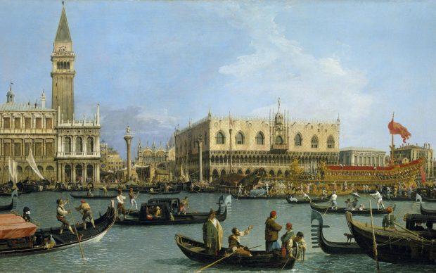 Canaletto, The Bacino di San Marco on Ascension Day c.1733–4 | Royal Collection Trust: © Her Majesty Queen Elizabeth II 2018