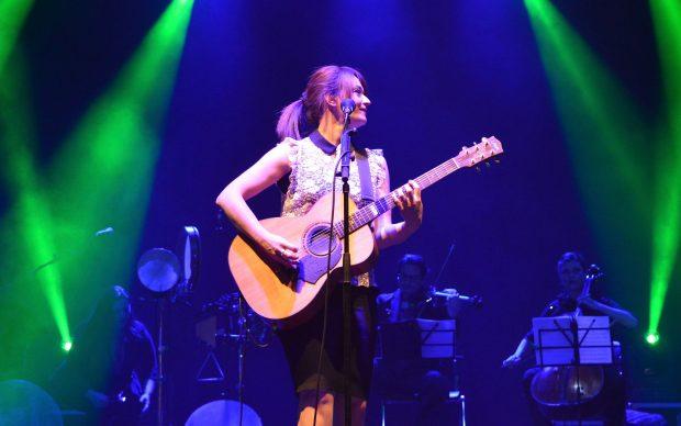 Carmen Consoli in concerto a Parma per la Festa della Liberazione, 25 aprile 2016, photo by Città di Parma - fonte Flickr