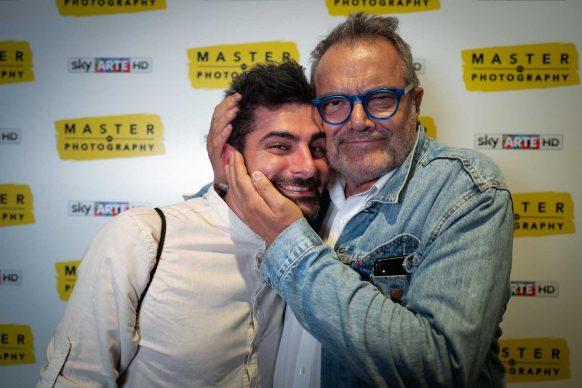 Oliviero Toscani e Alex Liverani