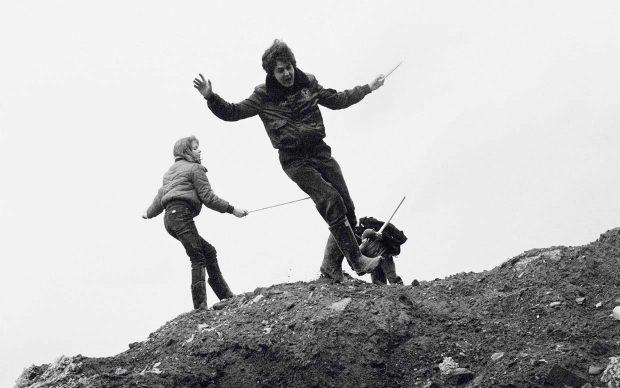 Linda McCartney, Stella and Paul, Sussex, 1983