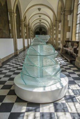 Monir Shahroudy Farmanfarmaian, Fountain of Life, Triennale Bruges 2018 - Liquid City
