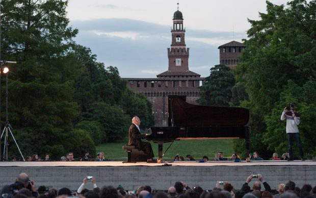 Michael Nyman in concerto al Teatro Burri per PianoCity Milano 2017