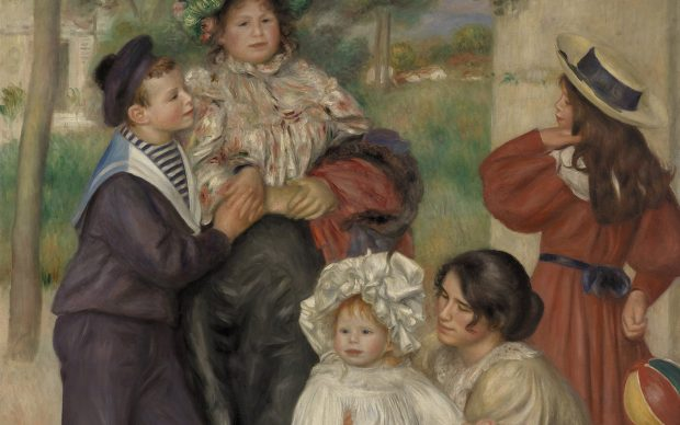 """Pierre-Auguste Renoir (French, 1841–1919) """"The Artist's Family (La Famille de l'artiste),"""" 1896"""