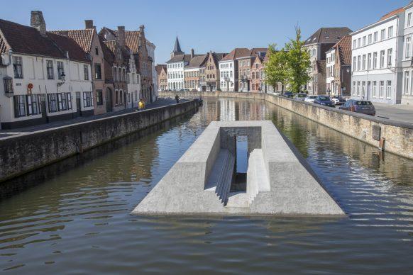 Renato Nicolodi, Acheron I, Triennale Bruges 2018 - Liquid City