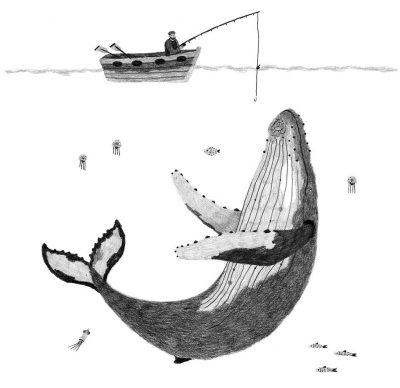 Andrea Antinori, Balena