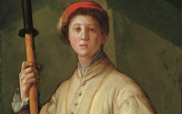 Jacopo da Pontormo (Pontorme, Empoli 1494 – Firenze 1557) Ritratto di Alabardiere (Francesco Guardi?) 1529-1530 circa Olio su tela (trasportato da tavola) Los Angeles, The J. Paul Getty Museum
