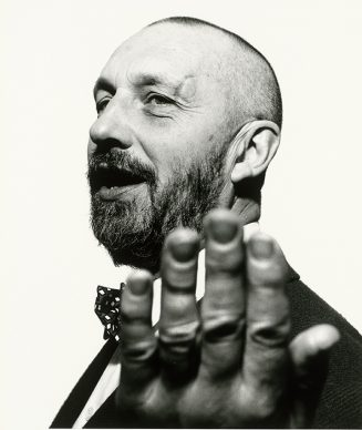 Jérôme Schlomoff, Georg Baselitz, 1989 © Jérôme Schlomoff, 1988