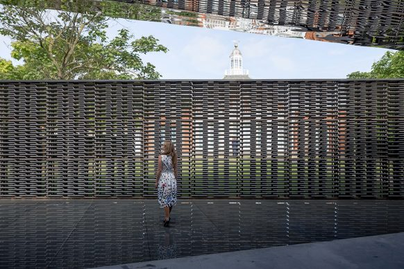 Serpentine Pavilion 2018, designed by Frida Escobedo, Serpentine Gallery, London (15 June – 7 October 2018) © Frida Escobedo, Taller de Arquitectura, Photography © 2018 Norbert Tukaj