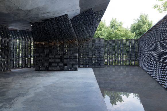 Serpentine Pavilion 2018, designed by Frida Escobedo, Serpentine Gallery, London (15 June – 7 October 2018) © Frida Escobedo, Taller de Arquitectura, Photography © 2018 Iwan Baan