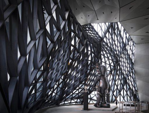 Zaha Hadid Architects, Morpheus Hotel, photo Virgile Simon Bertrand