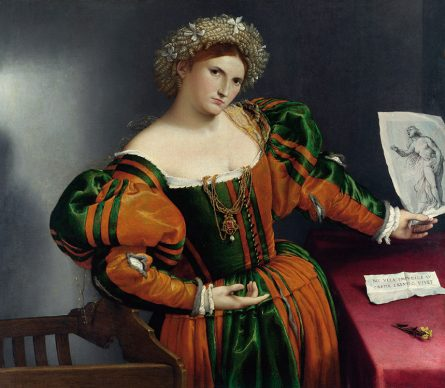Lorenzo Lotto, Portrait of a Lady as Lucretia, c. 1530-1532, London, The National Gallery