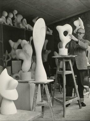 Pablo Volta, Jean Arp, 1958 © Pablo Volta / © VG Bild-Kunst, Bonn 201
