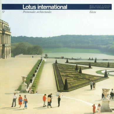 Luigi Ghirri, Copertina di Lotus international 52, 1986 © Eredi di Luigi Ghirri / Courtesy Editoriale Lotus