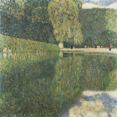 Gustav Klimt, Schönbrunn Landscape, 1916 © Private collection, Graz