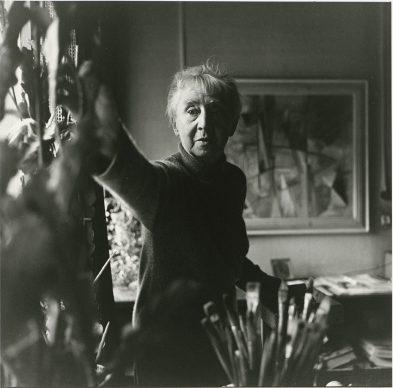 Floris Neusüss, Hannah Höch, 1962 © Floris Neusüss