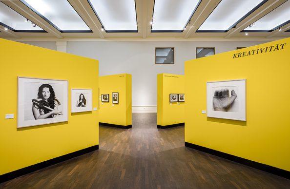 Museum für Fotografie, Künstler Komplex Fotografische Porträts von Baselitz bis Warhol. Sammlung Platen 29.06.2018 bis 07.10.2018  © Foto: David von Becker