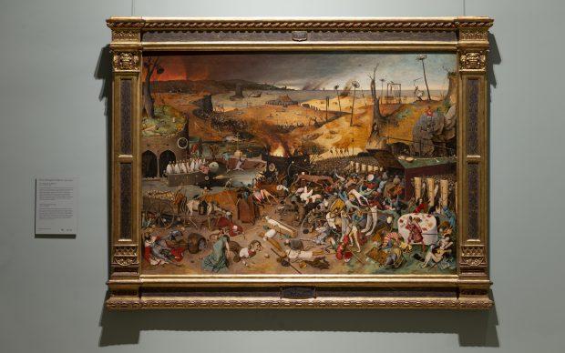 Pieter Brueghel il Vecchio,, Trionfo della morte, 1562-1563