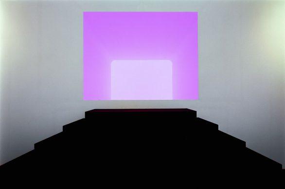 James Turrell, Ganzfeld APANI (Venice Biennial 2011), 2011, Installation, LED 16 x 12 x 6 m © James Turrell; Foto: Florian Holzherr