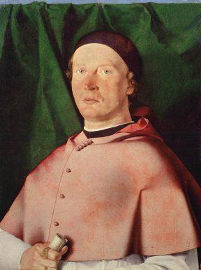 Lorenzo Lotto, Portrait of Bishop Bernardo de' Rossi, 1505, Napoli, Museo Nazionale di Capodimonte