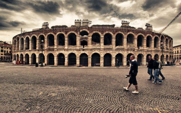 Arena di Verona, photo by Kevin Poh, fonte Flickr