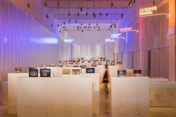 Mostra Luigi Ghirri. Il paesaggio dell'architettura © La Triennale di Milano - foto Gianluca Di Ioia