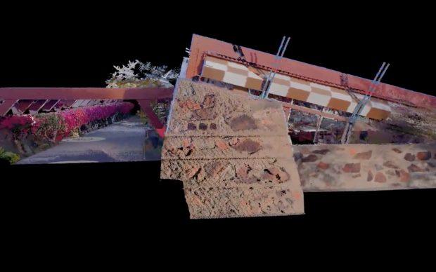 Frank Lloyd Wright_Taliesin_West ricostruzione 3D visita virtuale