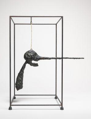 Alberto Giacometti, Head of a Woman (Flora Mayo) / (Tête de femme [Flora Mayo]), 1926. Fondation Giacometti, Paris © 2018 Alberto Giacometti Estate/Licensed by VAGA and ARS, New York