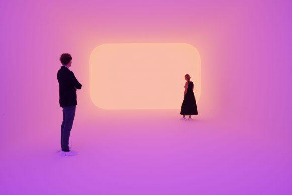 James Turrell, Ganzfeld Apani, Museum Frieder Burda, 2018 ©  James Turrell, Foto: Florian Holzherr