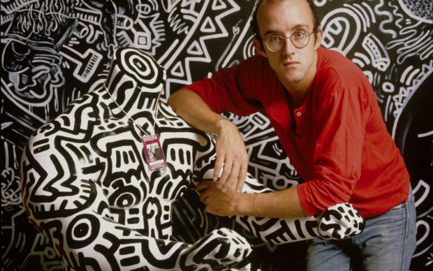 Wolfgang Wesener Keith Haring, 1986 © Wolfgang Wesener