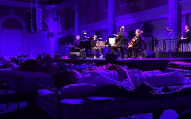 Max Richter Sleep concerto Barbican maggio 2017