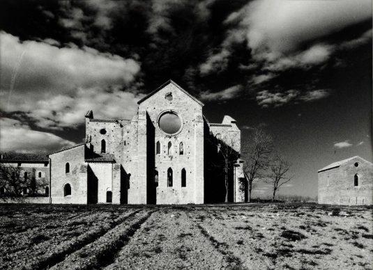 Aurelio Amendola (Pistoia, 1938), San Galgano, 2005. Stampa ai sali d'argento