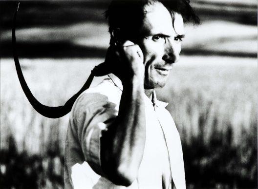 Mario Giacomelli (Senigallia (AN), 1925-2000), La buona terra, 1964-1966. Stampa ai sali d'argento