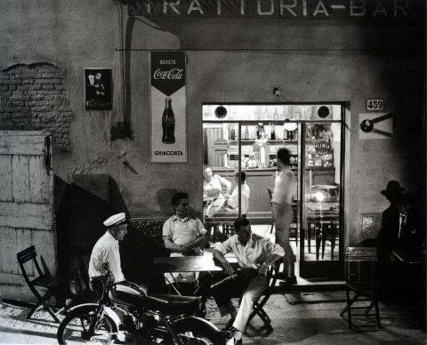 """Nino Migliori (Bologna, 1926), Da """"Gente dell'Emilia"""", 1959. Stampa ai sali d'argento"""