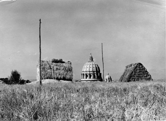 George Everard Kidder Smith, Dome of St Peter's Basilica. Gelatine silver print, 1954. Copyright Architectural Press Archive / RIBA Collections