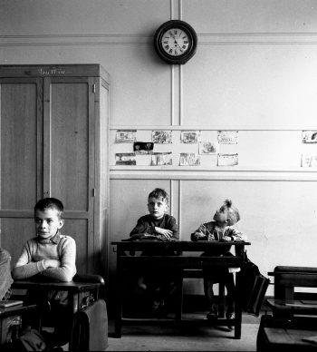 Robert Doisneau, La pendule, 1956 @ Atelier Robert Doisneau