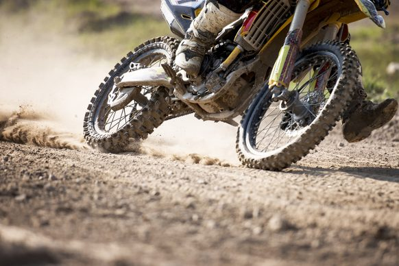 Chaiyaporn Baokaew, Motocross bike race speed and power in extreme man sport, sport action concept. Getty Image