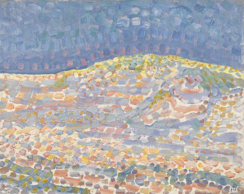 Piet Mondriaan, Dune II, 1909. Oil on canvas, 37.5 x 46.5 cm, Gemeentemuseum Den Haag