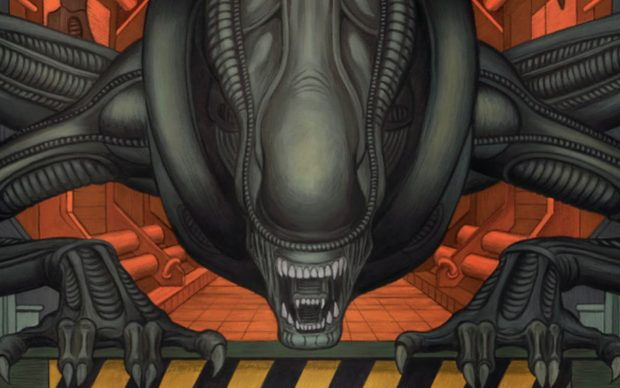 Alien 3 fumetti Dark Horse Comics William Gibson