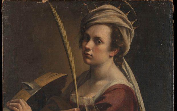 Artemisia Gentileschi, Autoritratto come Santa Caterina d'Alessandria, 1615-17, National Gallery - Londra