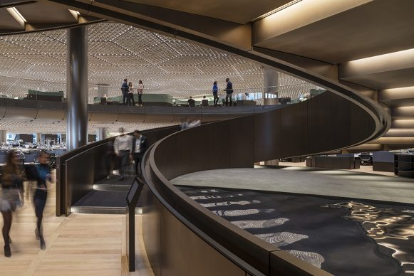 Foster + Partners, The Bloomberg Building, Londra. © James Newton - Credit: RIBA Stirling Prize