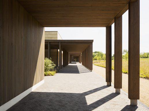 Waugh Thistleton Architects, Bushey Cemetery, Hertfordshire © Lewis Kahn - Credit: RIBA Stirling Prize